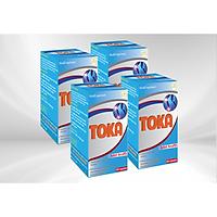 Combo 4 Hộp Thực phẩm chức năng Viên bổ xương khớp TOKA, dùng cho người Viêm khớp, Thoái hóa khớp, Đau nhức xương khớp, Khớp cứng, giảm Khô khớp giúp vận động linh hoạt và thoải mái ( 60 viên nang)