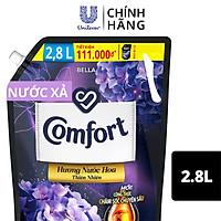 Nước Xả Vải Comfort Giữ Màu & Bền Vải Một Lần Xả Hương Bella túi 2.8L