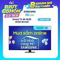 Smart Tivi QLED Samsung 4K 55 inch QA55Q70A Mới 2021