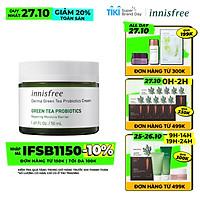 Kem Dưỡng Ẩm Phục Hồi Bảo Vệ Da Innisfree Derma Green Tea Probiotics Cream 50ml - 131172707