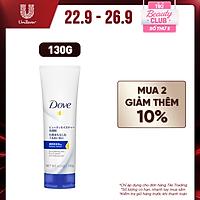 Sữa rửa mặt bọt mịn Dove serum sạch sâu tốt cho da khô - da mềm ẩm mượt 130g