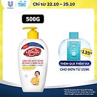 Nước Rửa Tay Lifebuoy 500g Chanh Khử Mùi Và Giúp Bảo Vệ Khỏi 99.9% Vi Khuẩn Trên Tay