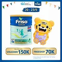 Sữa bột Friso Gold 4 1400g dành cho trẻ từ 2 - 6 tuổi + Tặng bộ đồ chơi ngẫu nhiên cho bé