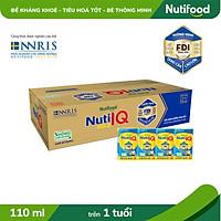 Thùng 48 hộp Sữa Bột Pha Sẵn Nuti IQ Gold 110ml
