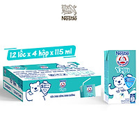 [PHIÊN BẢN THẺ CÀO MỖI LỐC] Thùng 48 hộp sữa chua tổ yến Nestlé Yogu (48x115ml)