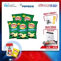 Combo 5 Bánh Snack Khoai Tây Lay's vị Tảo Biển Nori 150g Cho Cả Nhà - Family Pack Siêu Tiết Kiệm