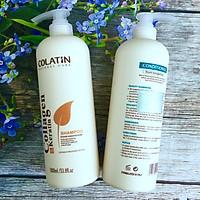 Bộ dầu gội xả dưỡng chất tơ tằm Collagen COLATIN Shampoo & Conditioner 1000ml