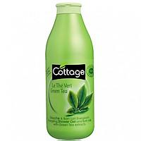 Sữa tắm COTTAGE Le The Vert Green Tea (Hương Trà Xanh) 750ml [ Được Mask 3W Clinic ]