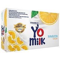 Thùng 48 Hộp Sữa Chua Uống Hương Cam Vinamilk (170ml)