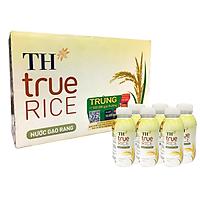 Thùng 24 Chai Nước Gạo Rang TH True RICE (300ml/ Chai)