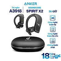 Tai Nghe Bluetooth True Wireless Anker Soundcore Spirit X2 - A3918 - Hàng Chính Hãng