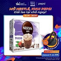 Cà Phê Hòa Tan Nescafé Latte Vị Sô Cô La (Hộp 10 Gói x 24g) - BAO BÌ MỚI