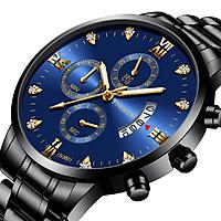 Đồng Hồ Nam FNGEEN FE5080 mặt đồng hồ tròn, mặt số ĐÍNH ĐÁ , LỊCH NGÀY thiết kế đẹp mắt, sáng bóng với tính năng hiện đại cho phái mạnh tự tin, mạng mẽ và thời trang Dây thép không gỉ thiết kế ôm tay