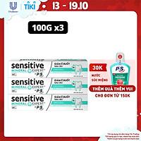 Combo 3 Kem Đánh Răng Sensitive Expert By P/S Original Chăm Sóc Chuyên Sâu 100g