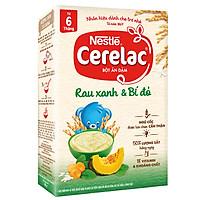Bột Ăn Dặm Nestlé Cerelac - Rau Xanh Và Bí Đỏ (200g)