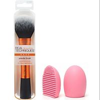 Cọ Phấn Phủ Real Techniques By Sam & Nic Powder Brush + Tặng kèm 1 miếng rửa cọ Brush egg