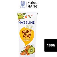 Sữa rửa mặt 100g Hazeline Sạch dầu ngừa mụn Nghệ chiết xuất từ thiên nhiên dịu nhẹ cho da