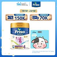 Sữa Bột Friso Gold Pro 4 Cho Trẻ Từ 3-6 Tuổi 800g + Tặng cân điện tử
