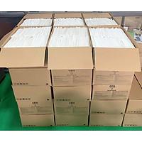 Ống hút giấy cao cấp Clean Paper Straw _ thùng 2500 ống có bọc giấy kích thước 6mm x 197mm dùng uống cà phê nước ép... ( take away)