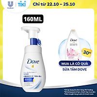 Sữa Rửa Mặt Dạng Bọt 160ml Dove Tinh Chất – Serum Cấp Ẩm & Cho Da Mềm Mượt