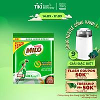 Bịch 15 gói Thức Uống Lúa Mạch Nestlé MILO Sữa 3 Trong 1 (22g/Gói)
