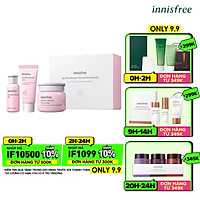 Bộ Dưỡng Ẩm Sáng Da Hoa Anh Đào Innisfree Jeju Cherry Blossom Tone Up Set - 131172582