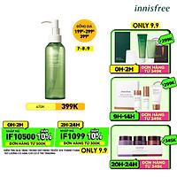 Dầu tẩy trang từ trà xanh đảo Jeju Innifree Green Tea Cleansing Oil 150ml - NEW