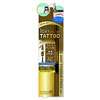 Bút Chì Vẽ Lông Mày 3 Đầu K-Palette Eyebrow Pencil Chống Nước Lâu Trôi 24h (01 Màu nâu sáng)
