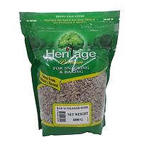 Hạt hướng dương đã tách vỏ Heritage giàu Vitamin E , giãm Cholesterol xấu - Sunflower Seeds 1kg