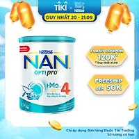 Sữa bột bổ sung HMO Nestlé Nan Optipro 4 cho trẻ trên 2 tuổi (1.7kg)