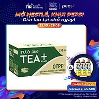 Thùng 24 Chai Trà Ô Long Tea+ Plus (350ml / Chai)