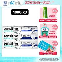 Combo 3 Kem Đánh Răng Sensitive Expert By P/S Whitening Trắng Răng 100g