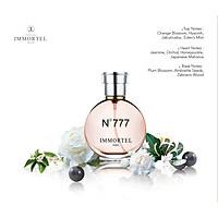 Nước Hoa Nữ IMMORTEL PARIS No777 Eau De Parfum Dung Tích 60ml -Với hương thơm nồng nàn và gợi cảm , bí ẩn đầy quyến rũ