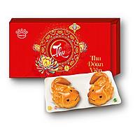 Combo 2 Bánh Trung Thu Kinh Đô Cá Vàng Nhân Socola Sữa (120gr/cái)