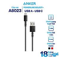 Dây Cáp Sạc USB Type-C Anker PowerLine Select+ A8022 0.9m / A8023 1.8m - Hàng Chính Hãng