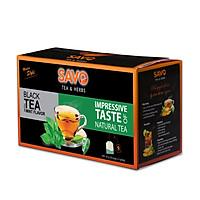 Trà SAVO Bạc Hà (Mint Tea) - Hộp 25 Gói x 2g