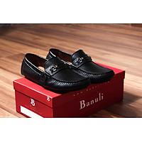 Giày lười, phong cách giày mọi, giày nam C4ML2T0 da bò Banglades, chính hãng Banuli
