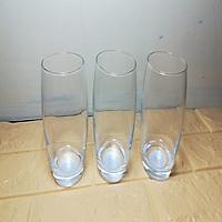 combo 3 chiếc cốc thủy tinh cao 350ml