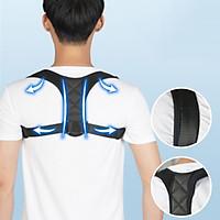Đai Chống Gù Lưng Người Lớn Nam Nữ-  Đai điều chỉnh tư thế cho nam và nữ - Nẹp lưng trên có thể điều chỉnh cho xương đòn để hỗ trợ cổ, lưng và vai