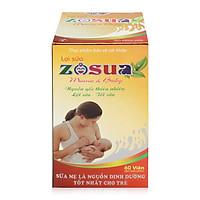 Thực phẩm chức năng Lợi sữa Zosua 60 viên
