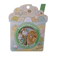 Molang Sticker (40 miếng dán cao cấp)