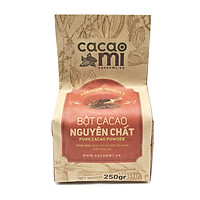 Bột Ca Cao Nguyên Chất CacaoMi (loại Premium) - 250g