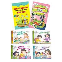 Combo sách kỹ năng cho bé (Dành cho tuổi mầm non)