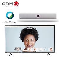 Gói giải pháp hội nghị truyền hình cho phòng họp nhỏ Cisco - Hàng chính hãng