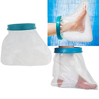 Kids Reusable Waterproof Foot Cast Cover Wound Bandage Protector For Shower