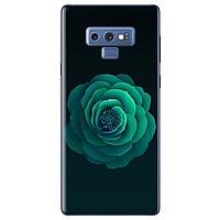 Ốp Lưng Dành Cho Samsung Galaxy Note 9 - Hoa Xanh Lục