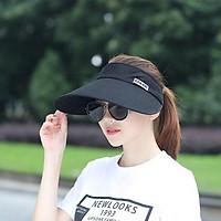 Mũ rộng vành hở chóp XDM HAT chống nắng, chống tia UV – Nón đi biển dành cho nữ