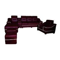 Bộ Sofa Góc Juno Li-Concept 310 x 180 x 75 cm Đỏ