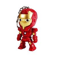 Móc khóa Iron-man có đèn LED Winwinshop88