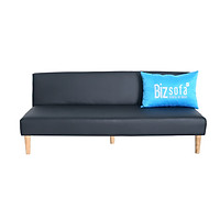 Ghế Sofa Giường BizSofa Bed MLF-159 168x70x70 cm - Simili Đen